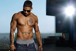 Nelly wearing sean jean
