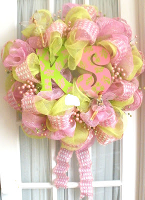 mesh wreaths