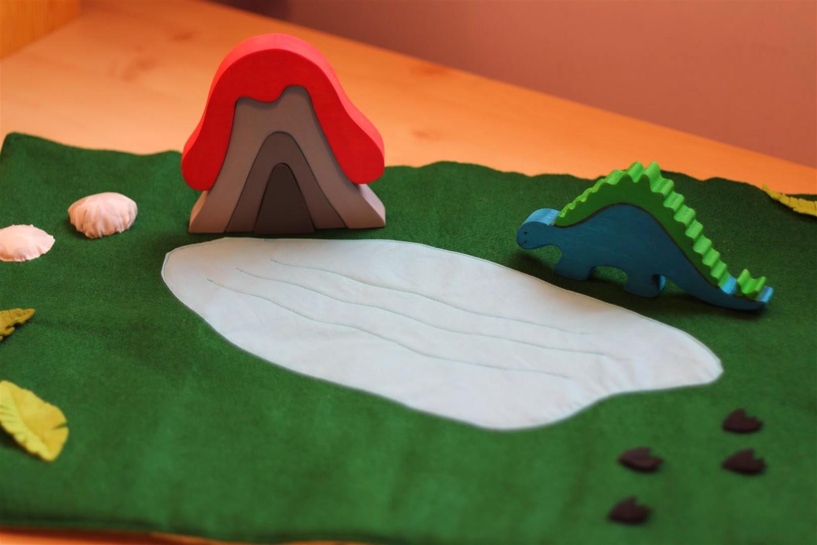 Emuse Dinosaur Playmat