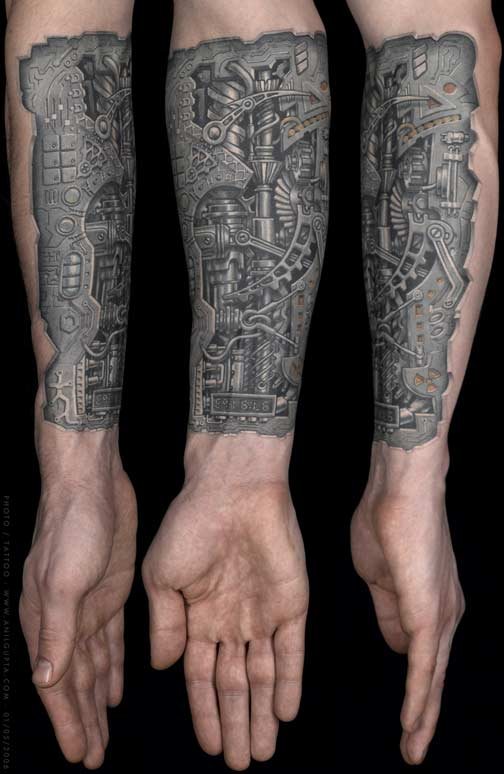 indian tattoo biomechanical tattoos. Black Bedroom Furniture Sets. Home Design Ideas