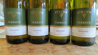 Strewn Terroir Riesling 2011 to 2014 (88-89 pts)