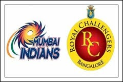 (9th-May-12) IPL-5 - Mumbai Indians vs Royal Challengers (52th Match Highlights)