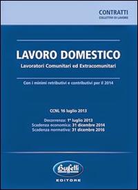 Lavoro domestico 2014. Lavoratori comunitari ed extracomunitari