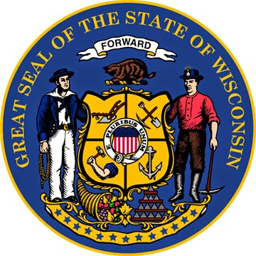 http://www.statesymbolsusa.org/Wisconsin/stateSEAL.html