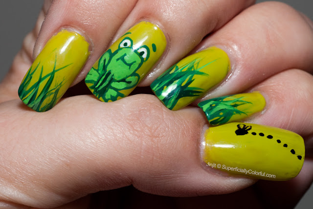 Green Frog Swamp Freehand