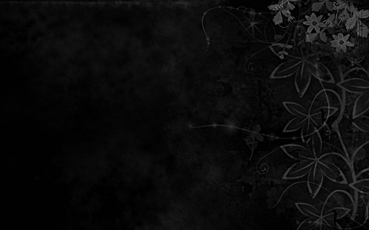 and black desktop wallpaper