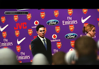 Download Press Conference Arsenal PES 2013
