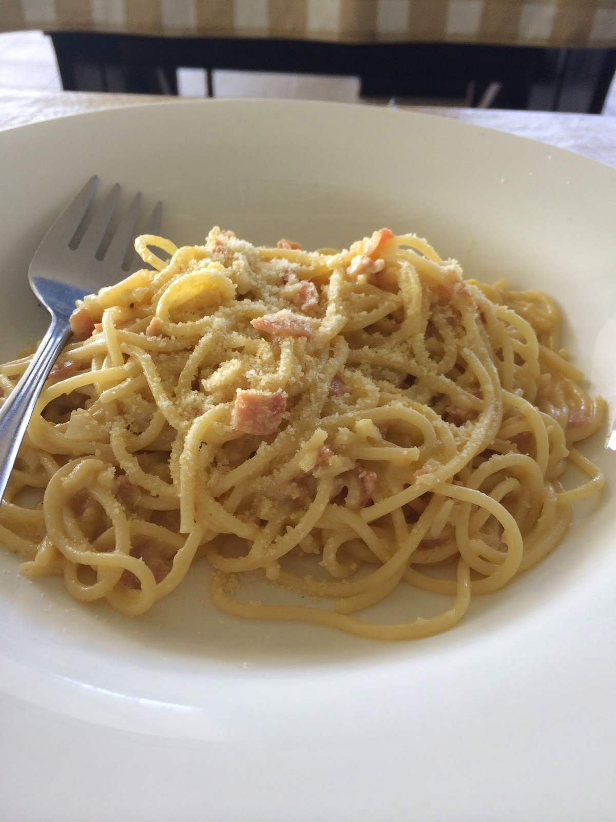 Pasta Carbonara from Claw Daddy