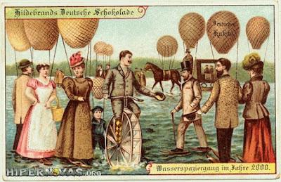 Hipernovas: Como as Pessoas de 1900 e 1910 Imaginavam Que Seriam os Anos 2000 [28 Imagens]