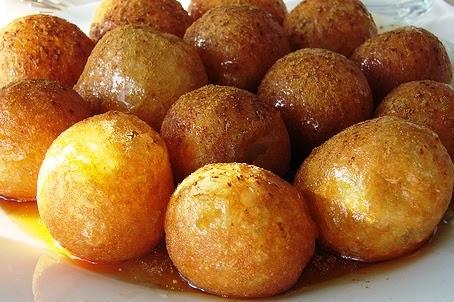 Loukoumades (honey puffs), Mediterranean Diet, The Cretan Diet,