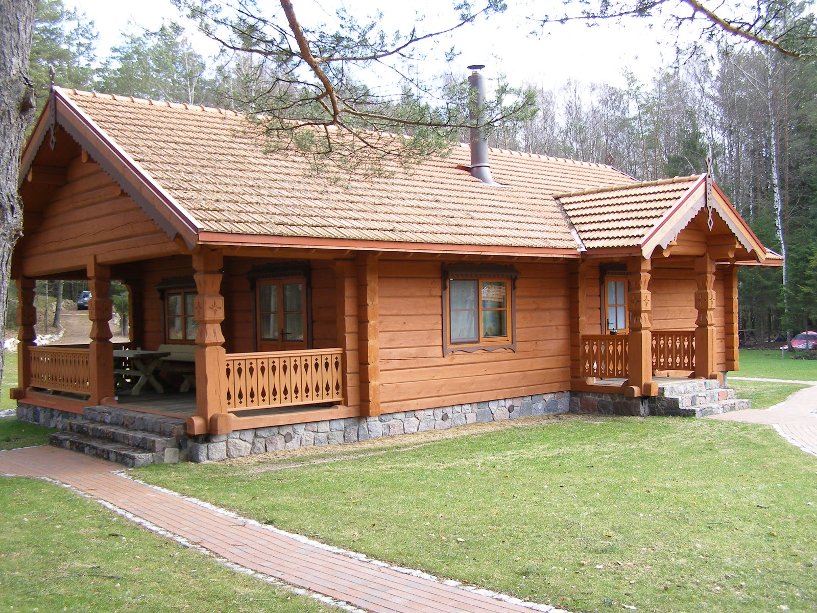 Small wood house house affair - Three wooden house plans ...