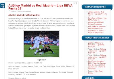Roja Directa blog fútbol