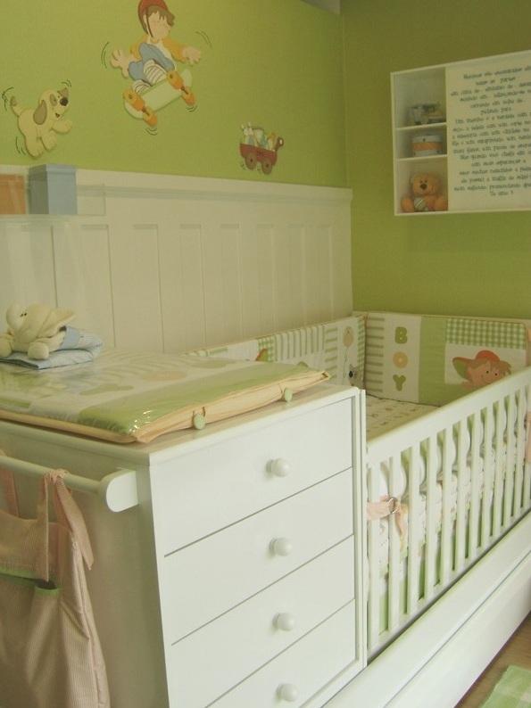 Dicas e Relíquias Decoração Quarto Infantil Meninos ~ Cores Para Quarto De Bebe Verde