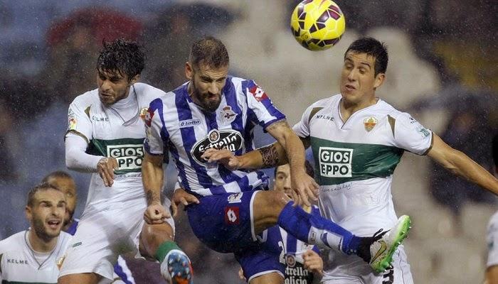 Elche vs Deportivo La Coruña en vivo