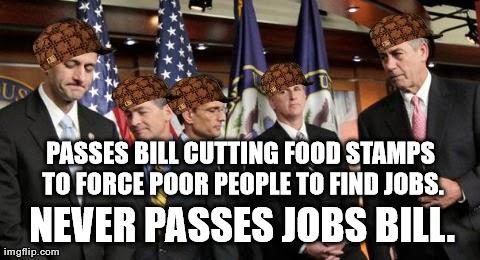 scumbag GOP image