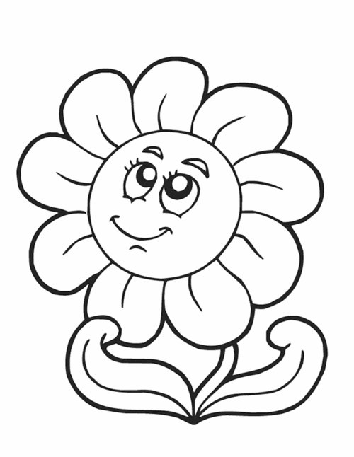 Spring Flowers Coloring Pages gt gt