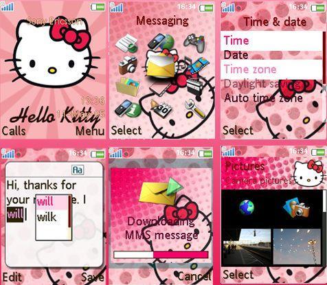 Download Temas Para Nokia c3 Hello Kitty