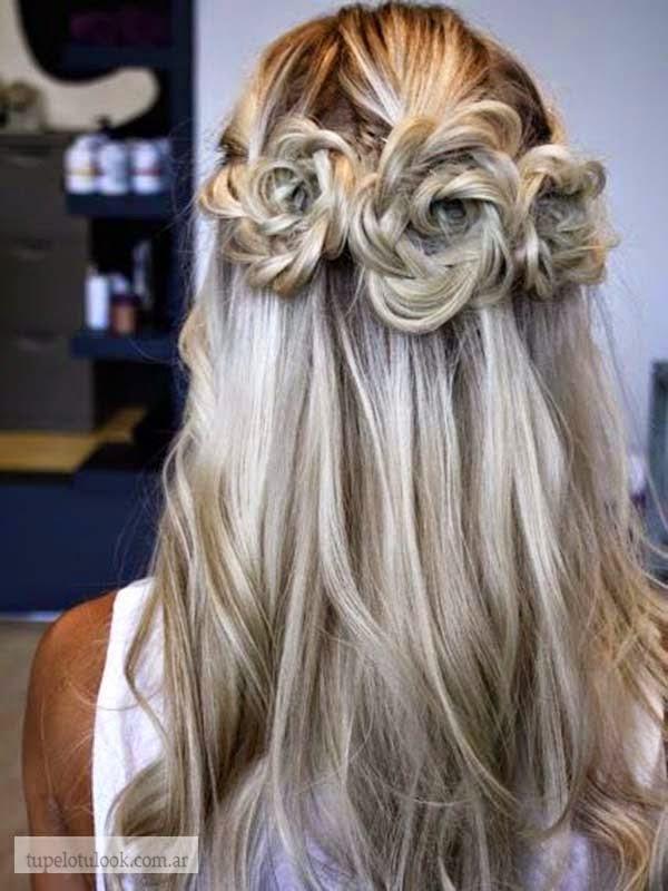 peinados creativos 2015