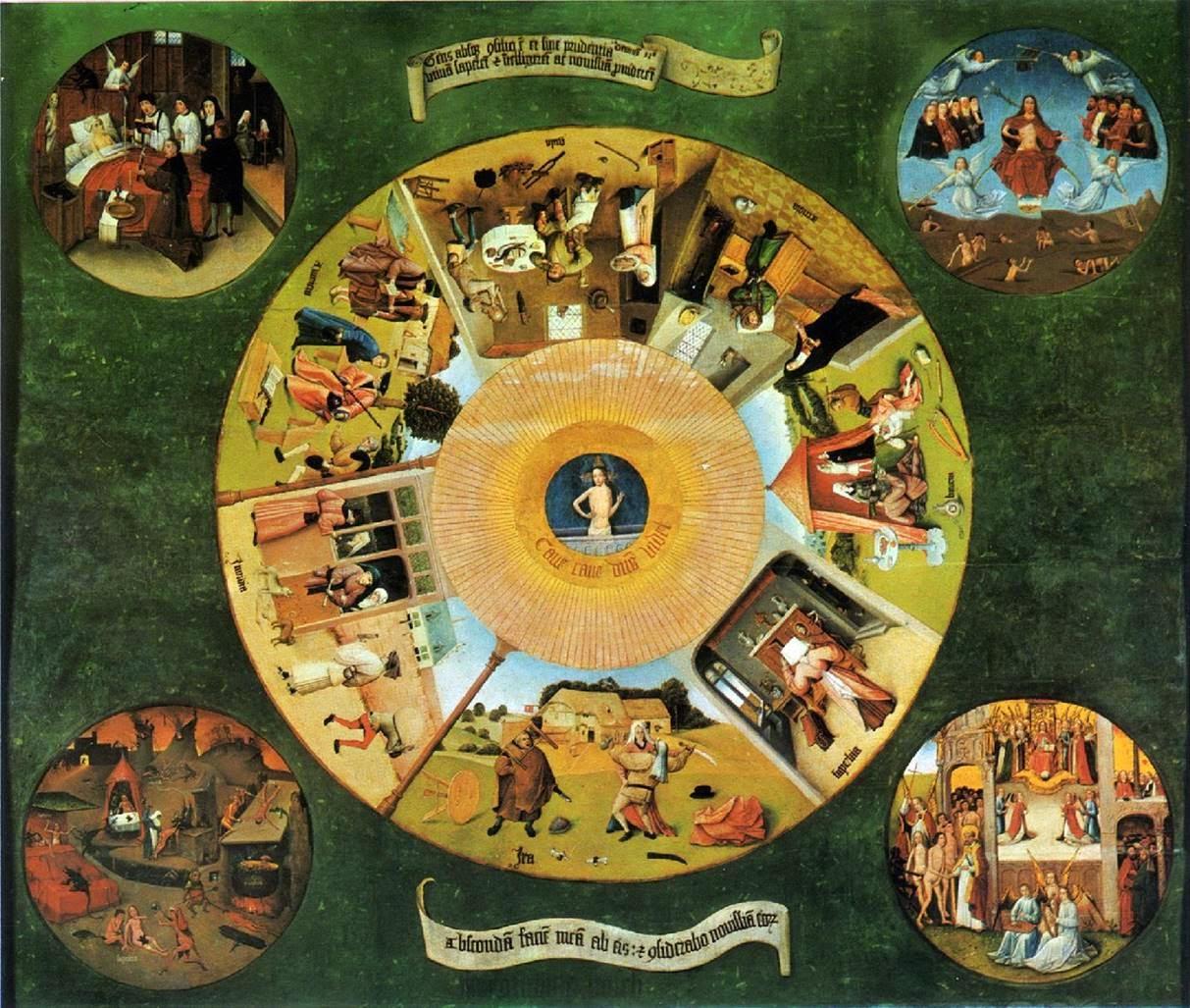 Historia del arte temas im genes y comentario el bosco for El jardin de las delicias detalles