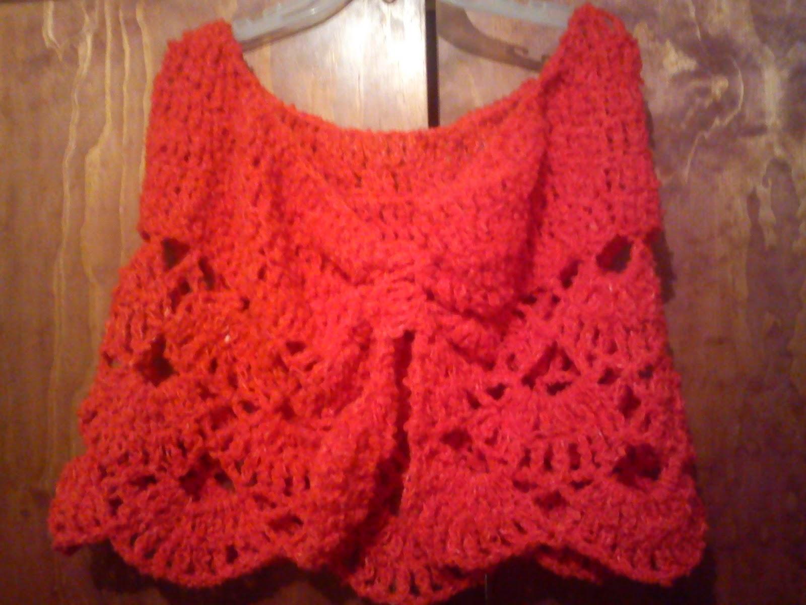 Capas Y Chalinas De Novedades A Crochet