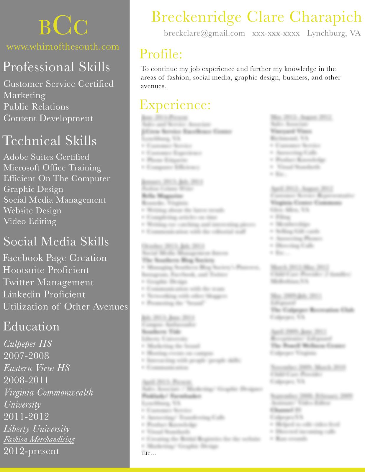 your resume pop paperblog