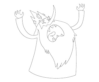 #10 Ice King Coloring Page