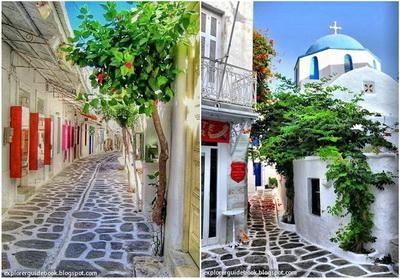 Tempat wisata di yunani santorini mykonos pulau paling indah di Yunani Pulau Paros Greece Yunani