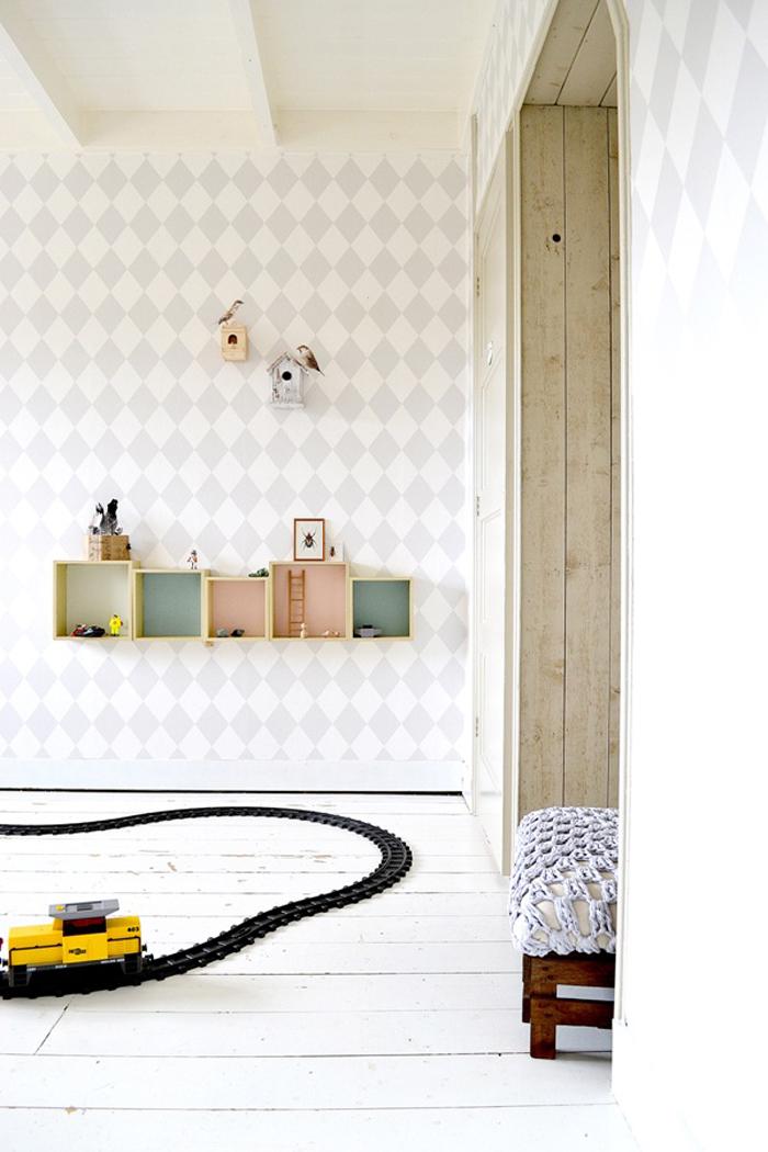 """boy room from """" Mini Woonboek"""""""