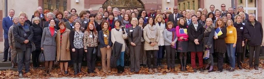 Fotografia do grupo de participantes nesta conferência