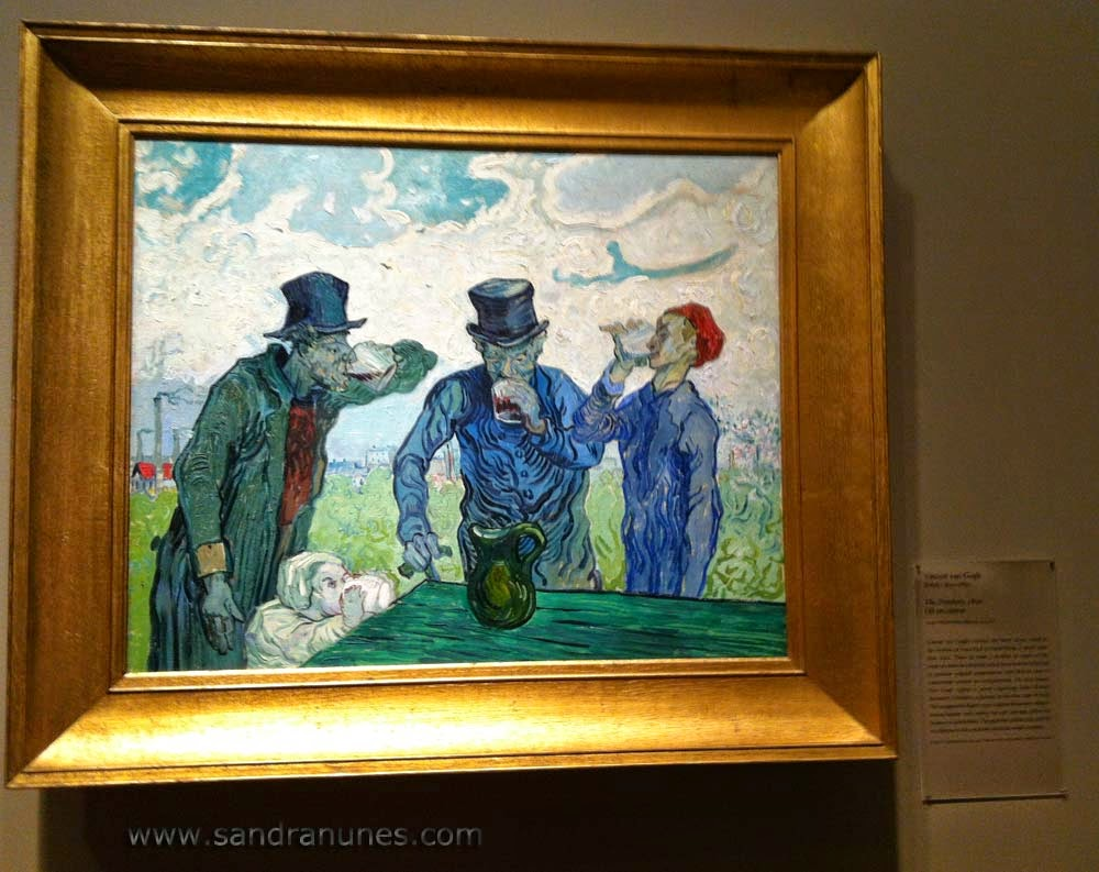 Van Gogh The drunken