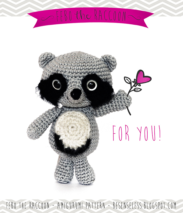Amigurumi To Go Raccoon : Airali design. Where is the Wonderland? Crochet, knit and ...