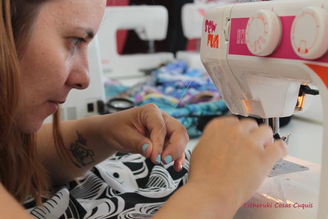 Taller de costura de Dawanda y Burda Style con La perqueña aprendiz