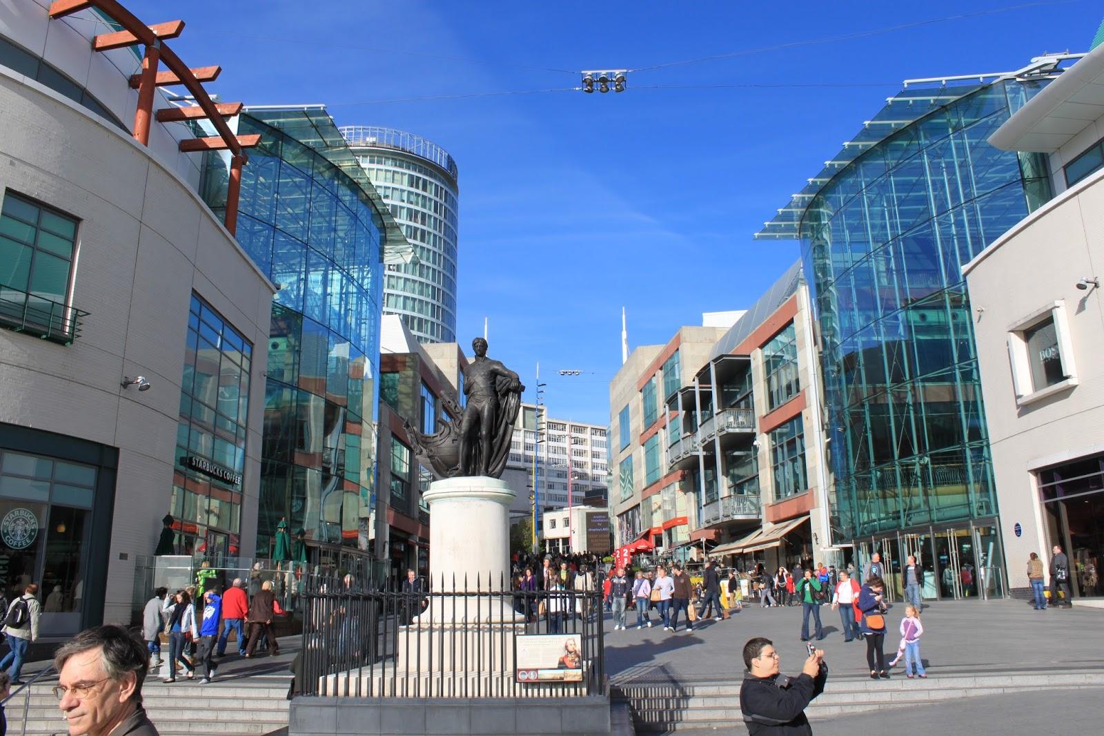 Birmingham Shopping Destination Beauty And The Bird