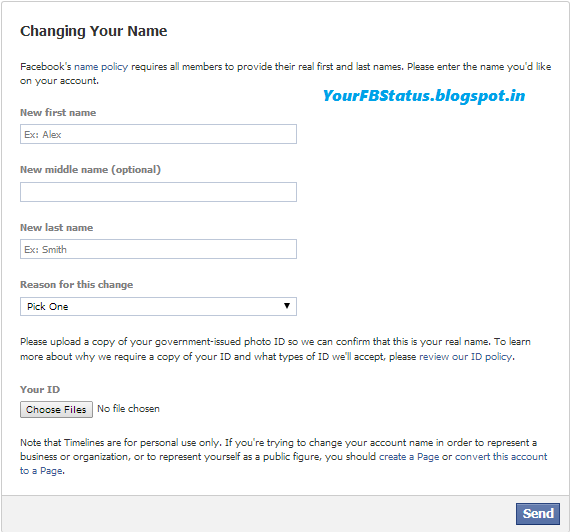 Soft konic how to change facebook accountprofile name after name as per facebook rules the profile name you use should be your real name as it would be listed on your credit card student id govt issued proof etc solutioingenieria Images
