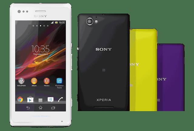 Harga dan Spesifikasi Ponsel SONY Xperia M
