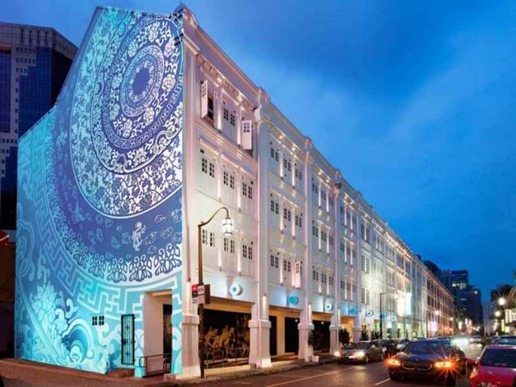 Porcelain Is A Budget Boutique Hotel In Chinatown District Of Singapore Just 3 Min Walk To The Nearby MRT Station
