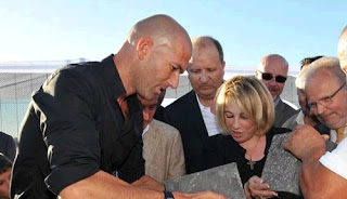 Zidane inagurating the Z5 Sports Complex