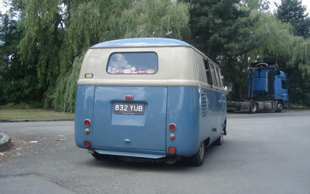 VW Microbus Barndoor 1953 | VW Bus