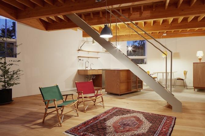 Casa tipo loft en jap n snark y uovi blog arquitectura for Casas loft diseno