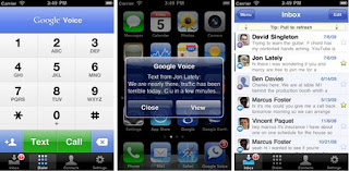 Google Voice for iPhone officially debuts