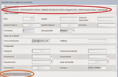 Resultados Del Examen De Ascenso De Profesores En Bolivia | Android