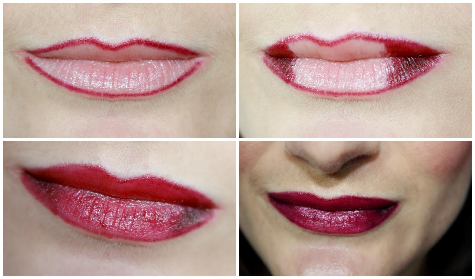 Bien-aimé Nous les Nanas: Mon Ombré Lips d'Automne avec Amaranth de Kiko ❤❤❤ QI41