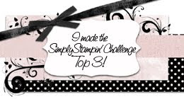 Simply Stamin&#39; Challenge Top 3 - Heartfelt