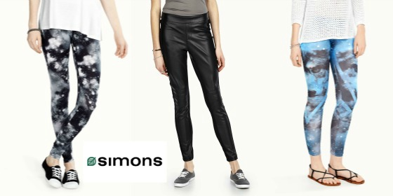 Getting a Leg UP: Leggings from Simons
