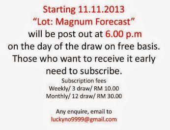 """""""Lot : Magnum Forecast"""""""