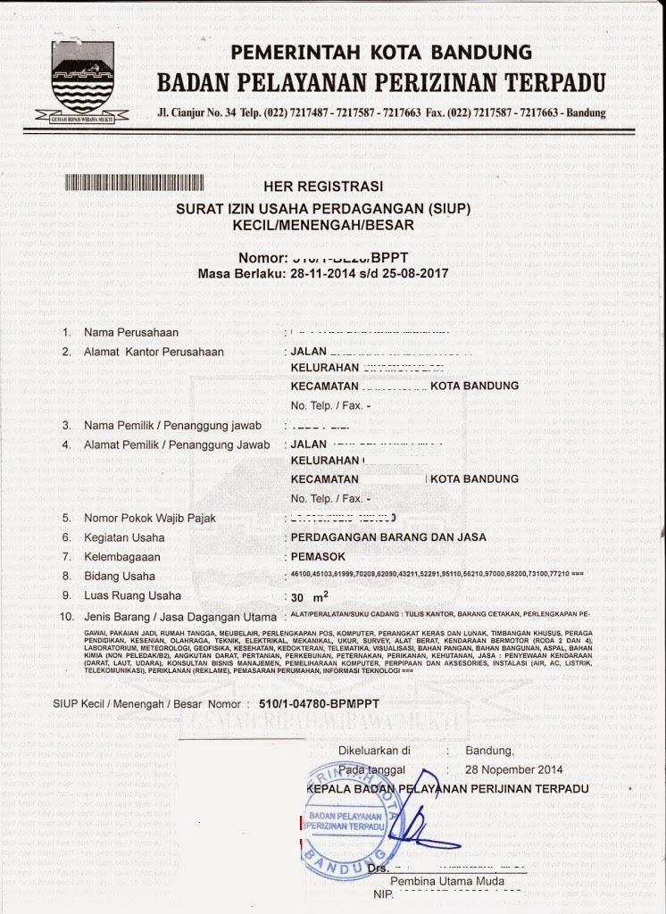 Mega-Biro Jasa Bandung-SIUP
