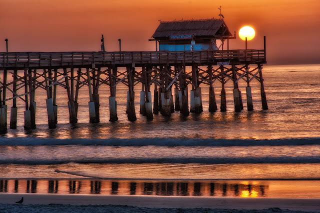 Praia Cocoa Beach Florida