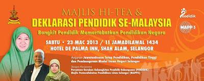 DEKLARASI PENDIDIK SE-MALAYSIA