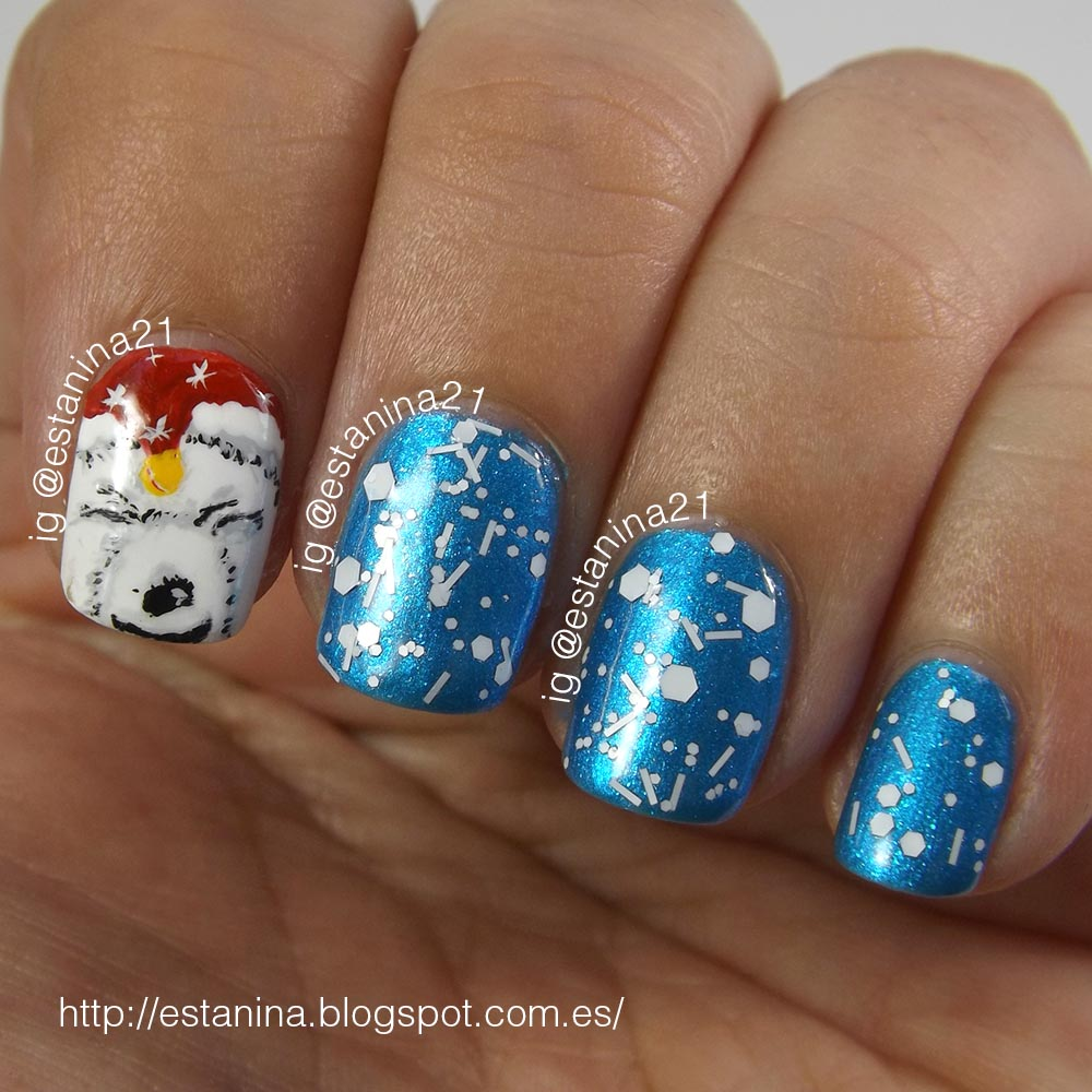 Polar-bear-nail-art