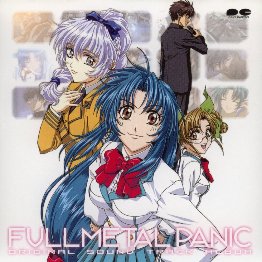 Full metal panic original soundtrack album 1